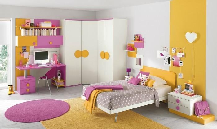 Kinderzimmer-gelb-Eine-super-Deko