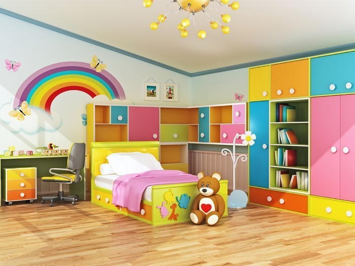 Kinderzimmer-gelb-Eine-tolle-Entscheidung