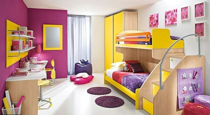Kinderzimmer-gelb-Eine-tolle-Gestaltung