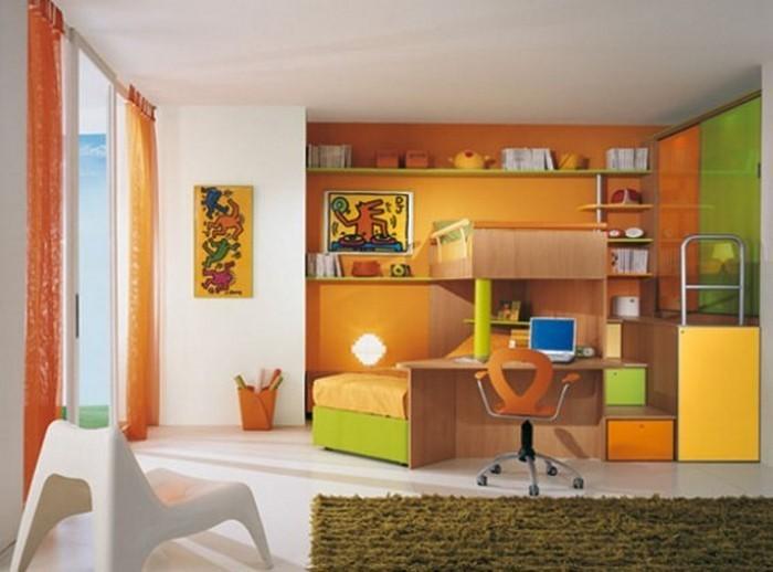 Kinderzimmer-gelb-Eine-verblüffende-Ausstattung