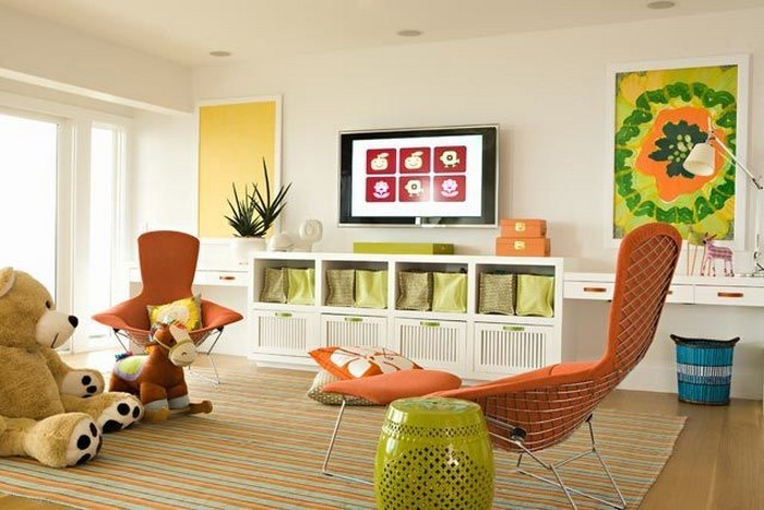 Kinderzimmer-gelb-Eine-verblüffende-Ausstrahlung
