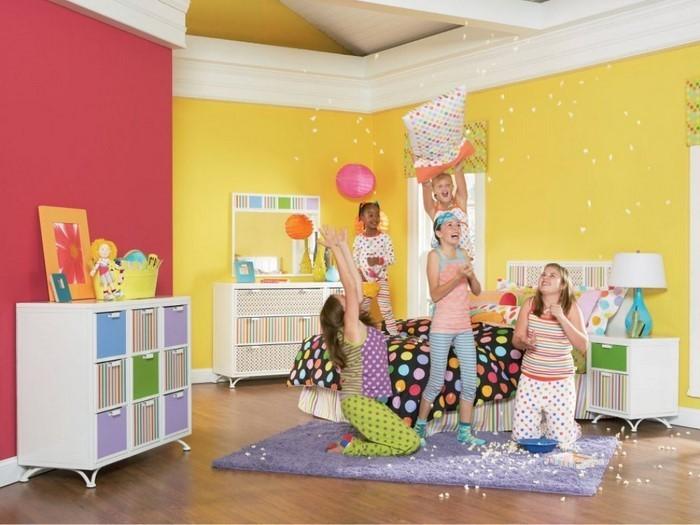 Kinderzimmer-gelb-Eine-verblüffende-Gestaltung