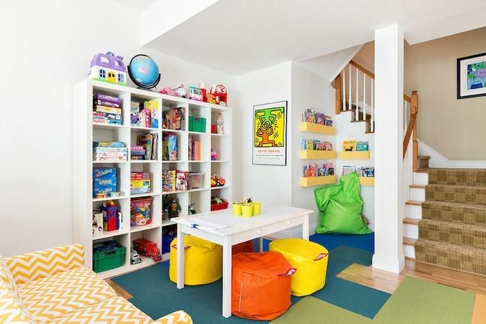 Kinderzimmer-gelb-Eine-wunderschöne-Dekoration