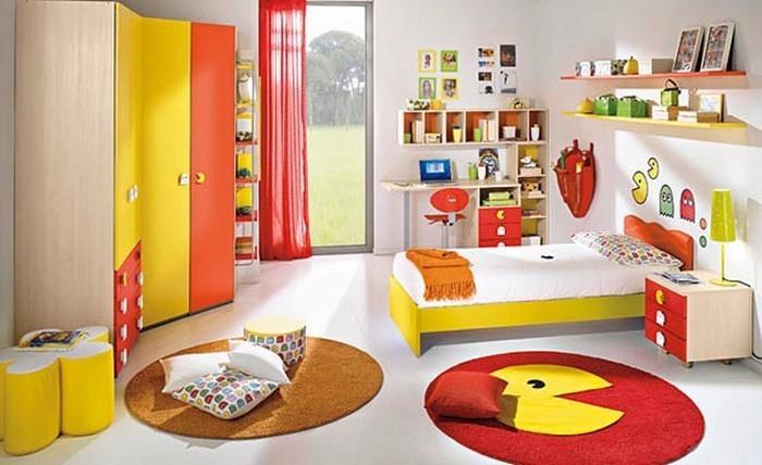 Kinderzimmer-gelb-Eine-wunderschöne-Entscheidung
