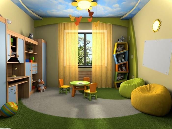 Kinderzimmer-gelb-Eine-wunderschöne-Gestaltung