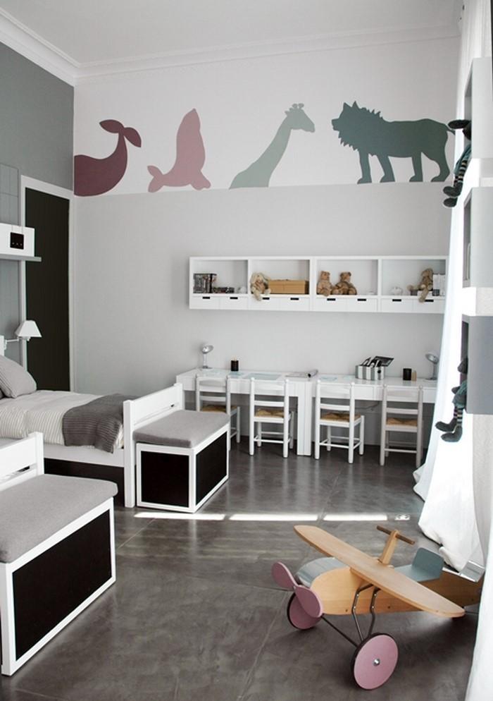 kinderzimmer-grau-ein-cooles-design