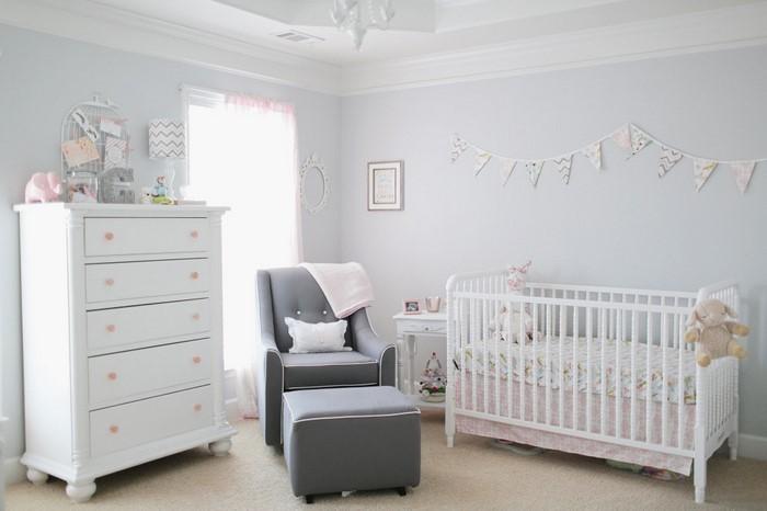 Charmant Kinderzimmer Grau