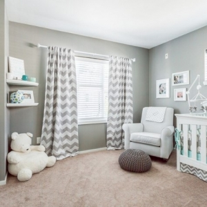 Das Kinderzimmer grau gestalten: 73 wunderschöne Ideen