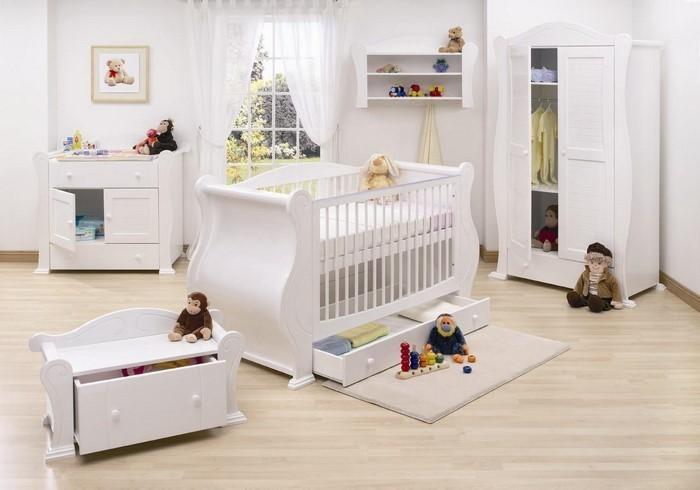 Kinderzimmer in Weiß einrichten und dekorieren | {Kinderzimmer weiß 10}