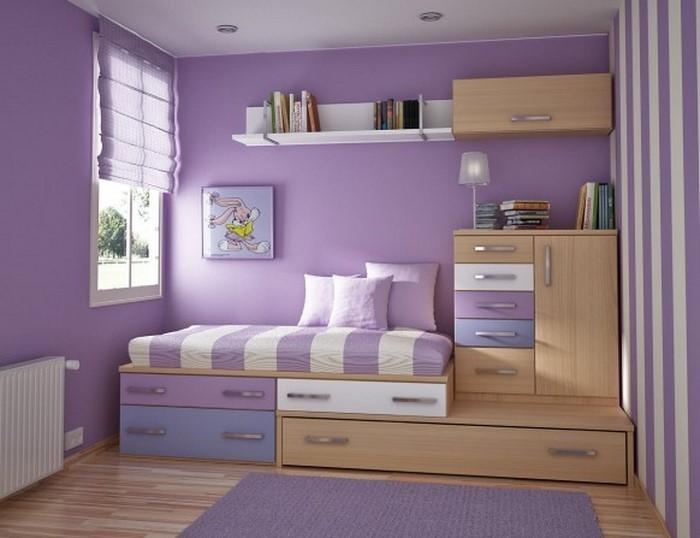 kinderzimmereinrichtung das geheimisvolle lila. Black Bedroom Furniture Sets. Home Design Ideas