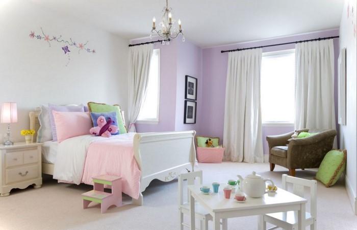 kinderzimmereinrichtung: das geheimisvolle lila, Moderne deko