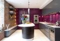 Küche in Lila einrichten und dekorieren