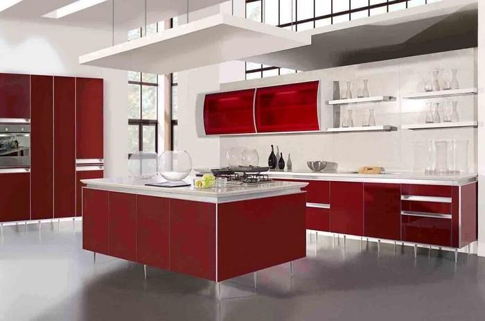 kueche-in-rot-ein-modernes-design