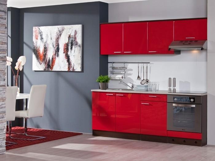 Poco Domäne Kücheninsel ~ küche in rot gestalten das sinnliche rot