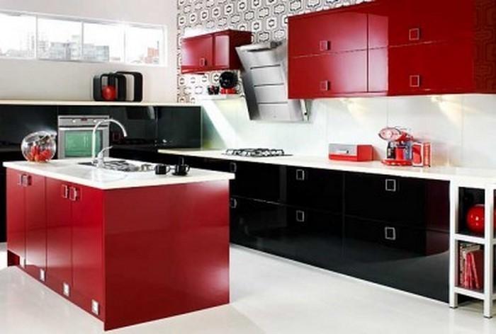 Küche In Rot Gestalten: Das Sinnliche Rot ...