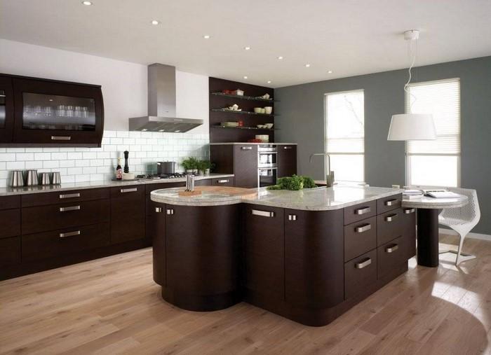 braune laminat arbeitsplatten dekoration laminat