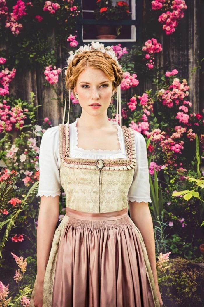 Oktoberfest-Outfits-Rosen-im-Hintergrund
