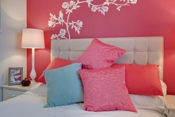 schlafzimmer farblich gestalten mit rosa ein kreatives interieur - Rosa Schlafzimmer Gestalten