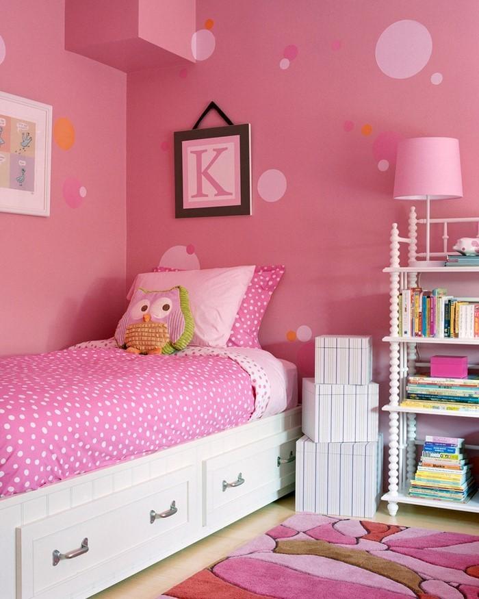 Schlafzimmer Gestalten Farblich : Rosa Inspiration von Schlafzimmern kleiner Mädchen