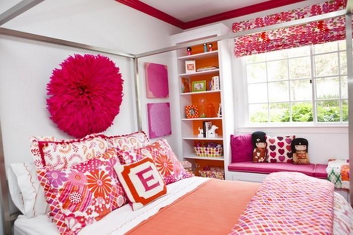 schlafzimmer farblich gestalten das fr hliche rosa. Black Bedroom Furniture Sets. Home Design Ideas