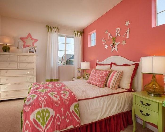 Schlafzimmer farblich gestalten das fr hliche rosa - Rosa wandfarbe schlafzimmer ...
