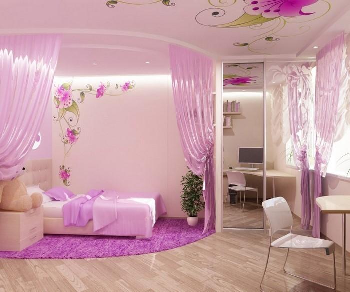 Zullian.com - ~ Beispiele Zu Ihrem Haus Raumgestaltung Schlafzimmer Farblich Gestalten Lila