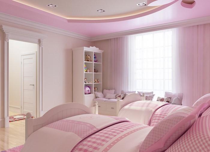 Wandgestaltung schlafzimmer pink ~ Dayoop.com