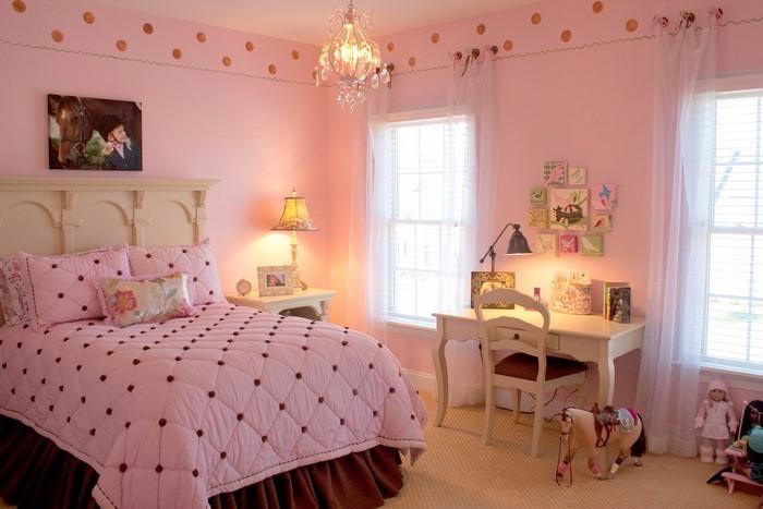 schlafzimmer farblich gestalten mit rosa eine kreative gestaltung - Rosa Schlafzimmer Gestalten
