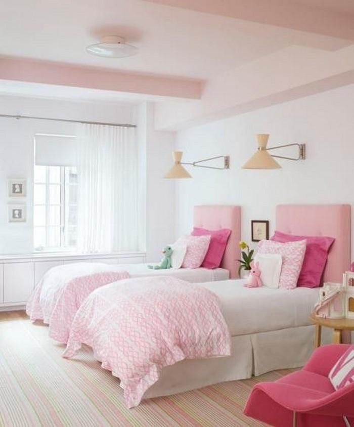 Schlafzimmer Dachschrage Farblich Gestalten : Schlafzimmer Pastellfarben  SchlafzimmerfarblichgestaltenmitRosa