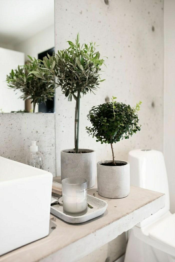 54 badezimmer beispiele f r richtige gestaltung - Badezimmer mit pflanzen ...