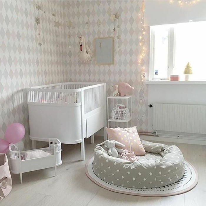 babyzimmer grau einrichten wnde innen und m belideen. Black Bedroom Furniture Sets. Home Design Ideas