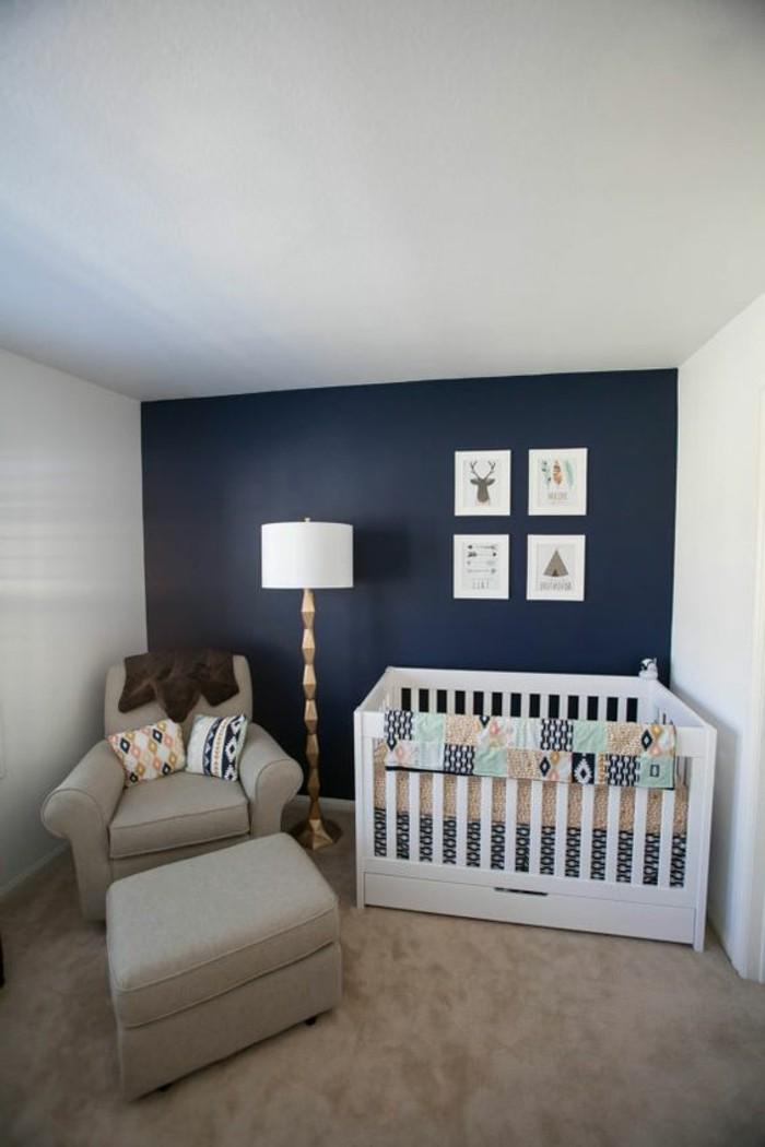 Babyzimmer wandgestaltung blau die neuesten - Babyzimmer blau ...