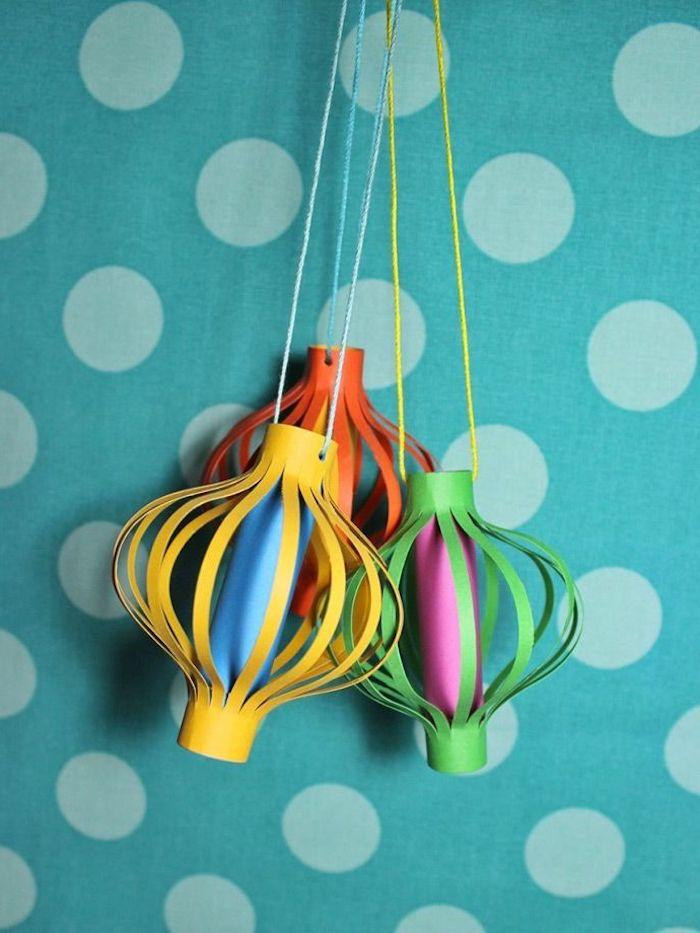 bastelideen kreativ laternen basteln mit kindern unter 3 jahren leciht und kreativ