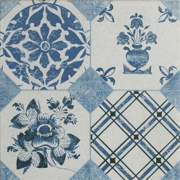 bunte-fliesen-blau-und-weis
