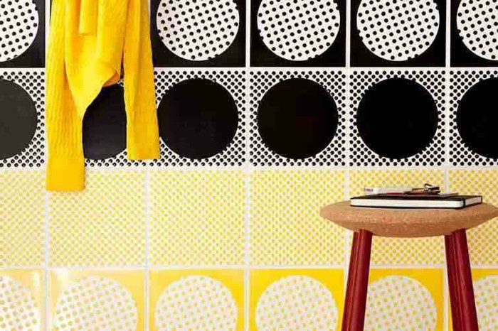 bunte-fliesen-gelb-und-schwarz
