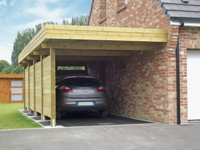carport selbst bauen carport selber bauen with carport. Black Bedroom Furniture Sets. Home Design Ideas