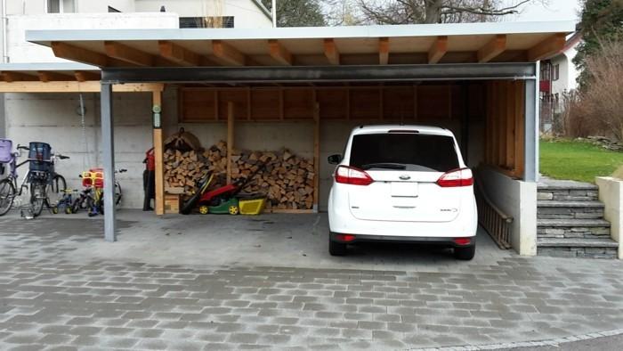 carport selber bauen mehr als 70 ideen und. Black Bedroom Furniture Sets. Home Design Ideas