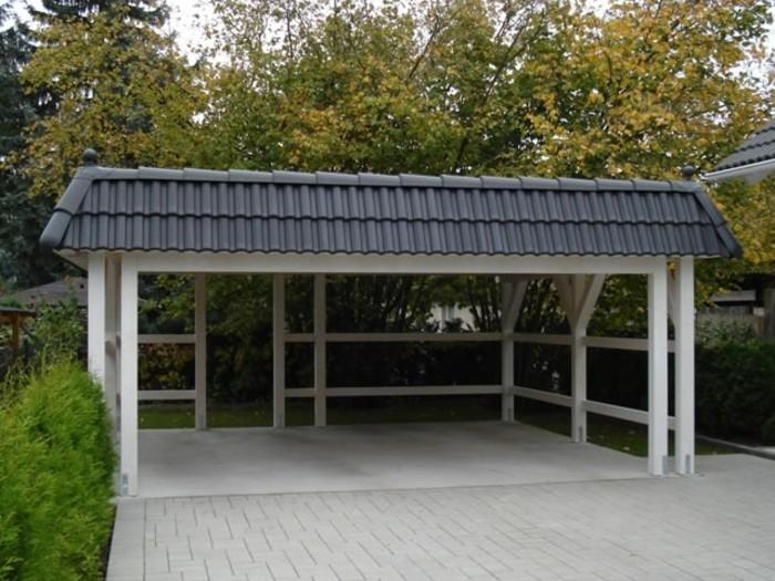carport selber bauen mehr als 70 ideen und bauanleitungen. Black Bedroom Furniture Sets. Home Design Ideas
