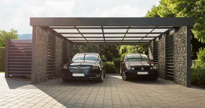 Carport selber bauen mehr als 70 ideen und for Hornbach carports