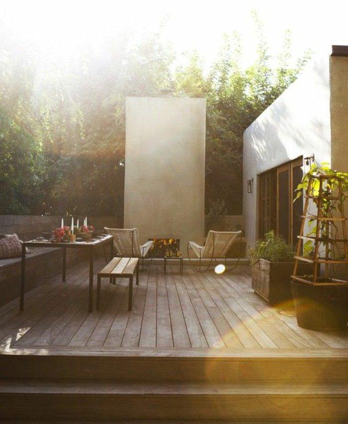 60 ideen wie sie die terrasse dekorieren k nnen - Polster fur schaukelstuhl ...