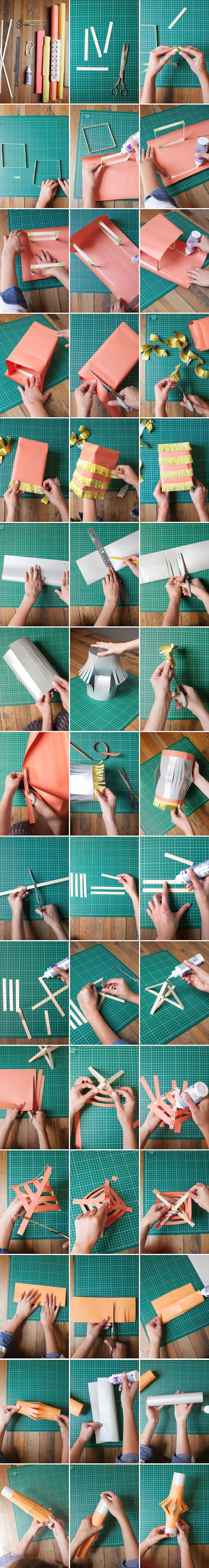 diy schritt für schritt anleitung laternen basteln mit kindern kreative bastelideen
