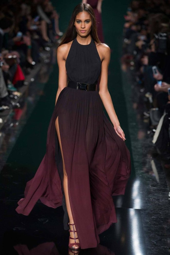 elegante-mode-damen-in-zwei-farben