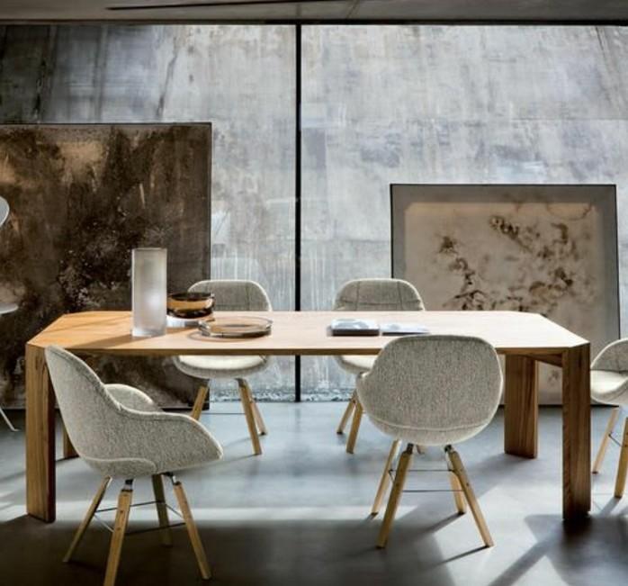 Design Stuhle Fur Esszimmer : Offen gestalteter Raum mit Esszimmer und Wohnbereich