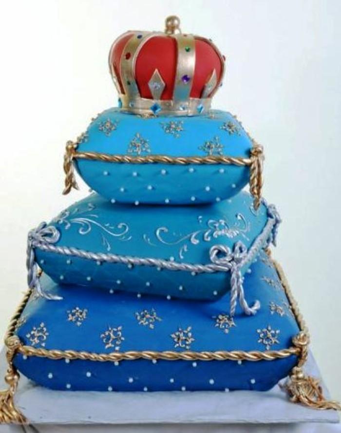 fondant-selber-machen-fondant-torte-konig