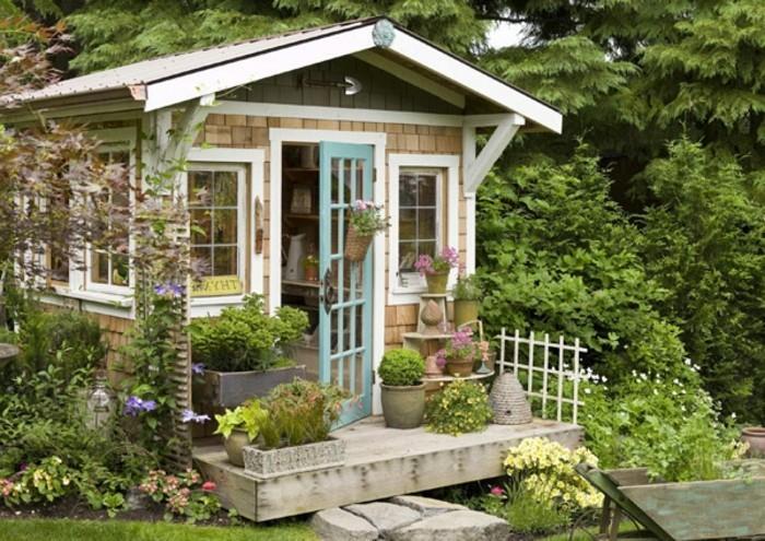 Relativ Mehr als 40 Vorschläge, wie Sie ein Gartenhaus selber bauen OL41