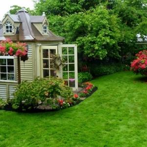 Mehr als 40 Vorschläge, wie Sie ein Gartenhaus selber bauen!