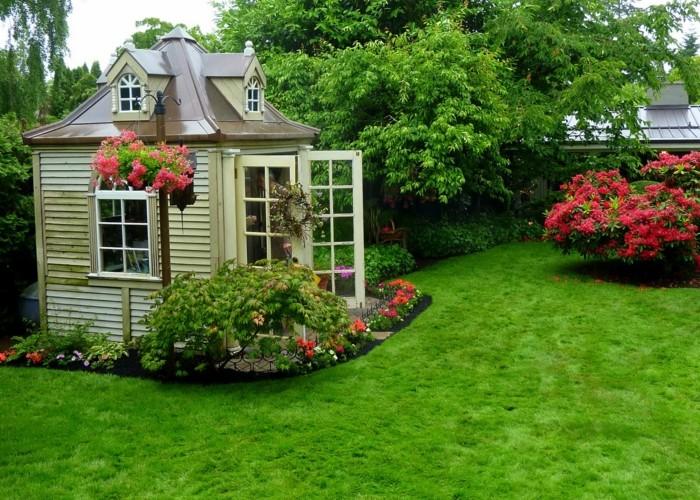 Schönes Gartenhaus mehr als 40 vorschläge wie sie ein gartenhaus selber bauen