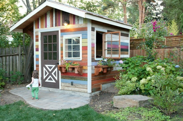 Fabulous Mehr als 40 Vorschläge, wie Sie ein Gartenhaus selber bauen BS39