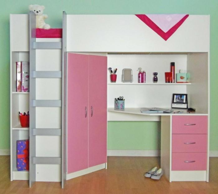 hochbett selber bauen mehr als 100 ideen und. Black Bedroom Furniture Sets. Home Design Ideas
