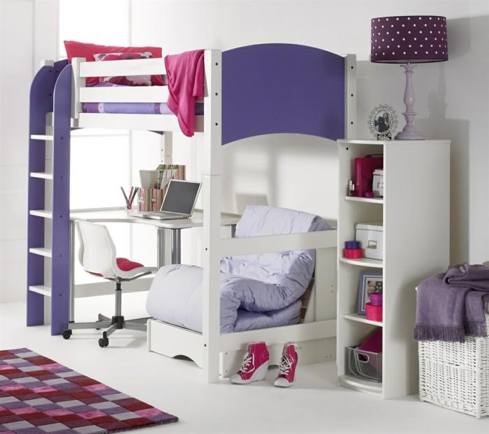 hochbett mit selber bauen latest kreativ hochbett aus. Black Bedroom Furniture Sets. Home Design Ideas